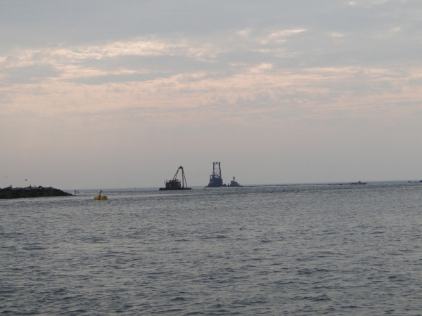 The Results of the 2010 River Dredging & Beach Nourishment Project